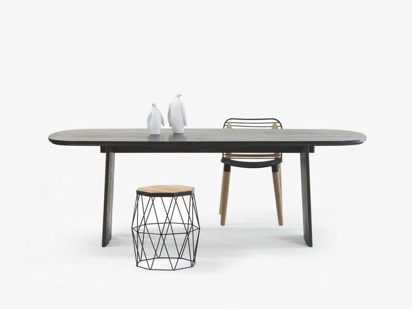 Oak dining table FINE TORI TABLE - Specimen Editions