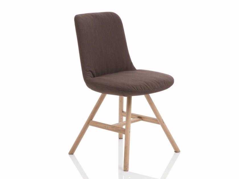 Fabric chair FIOR DI LOTO | Fabric chair by Emmegi
