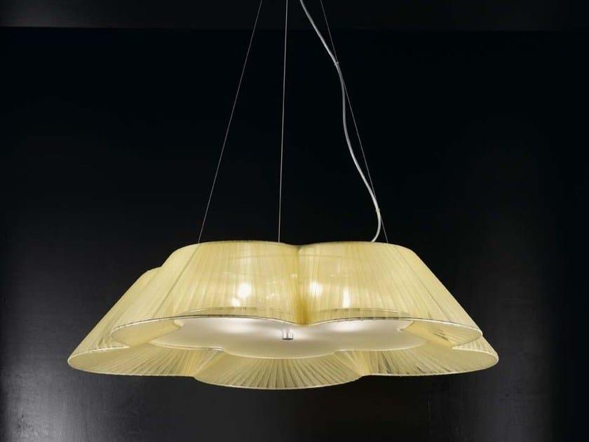 Direct light organza pendant lamp FIORE   Pendant lamp by IDL EXPORT