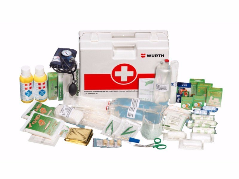 First Aid cabinet First-aid case a1 - Würth