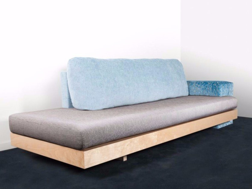 4 seater fabric sofa FIRST by MALHERBE EDITION