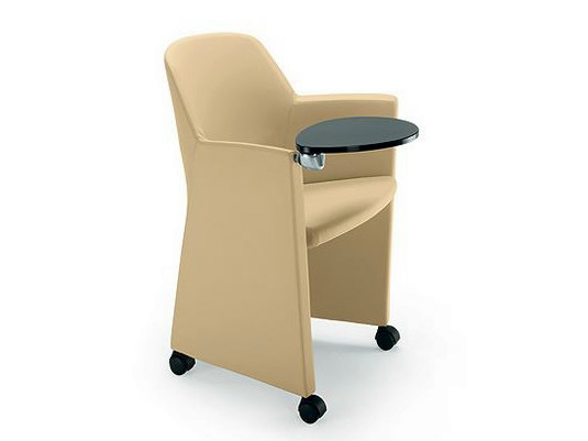 Training chair with armrests with writing tablet FIRST | Training chair with writing tablet by D.M.