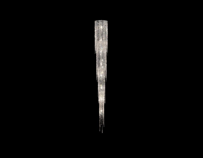 Halogen crystal pendant lamp FJORD   Crystal pendant lamp by Manooi