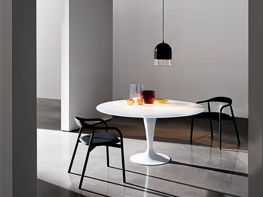 Glass table FLÛTE | Table - SOVET ITALIA