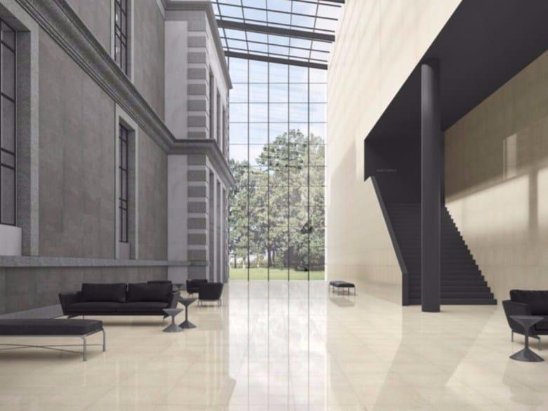 Indoor/outdoor resilient full-body porcelain stoneware wall/floor tiles FLAKE - Revigrés