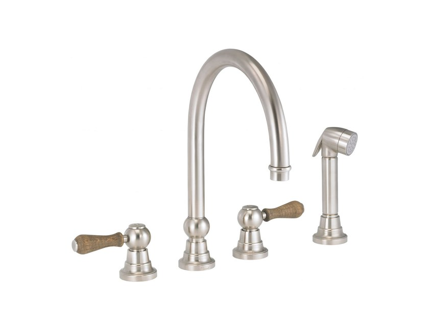 Countertop kitchen mixer tap with pull out spray FLAMANT BUTLER | Kitchen mixer tap with pull out spray - rvb