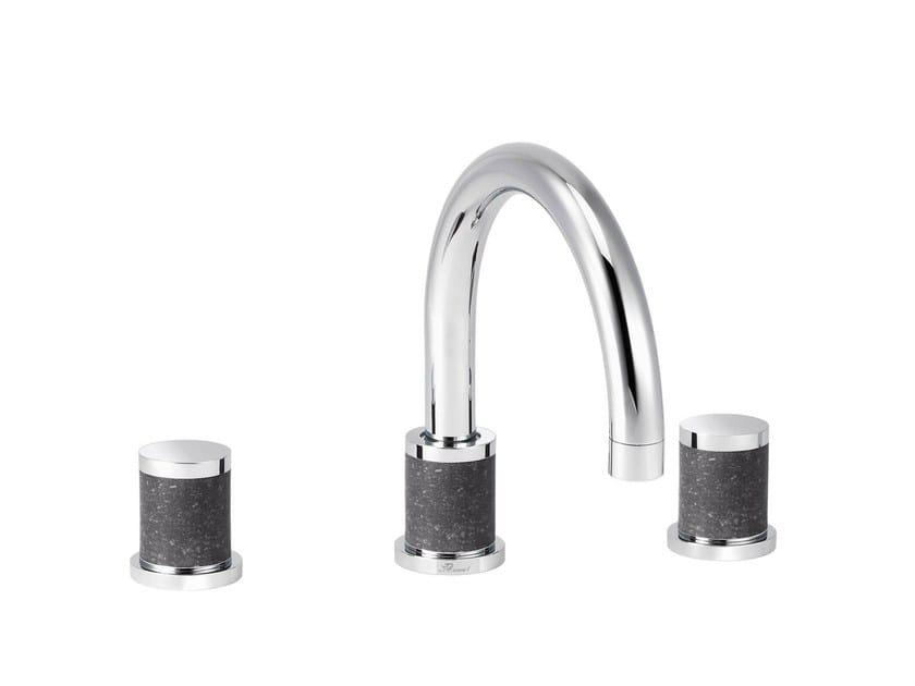 3 hole countertop washbasin mixer FLAMANT DOCKS   3 hole washbasin mixer - rvb