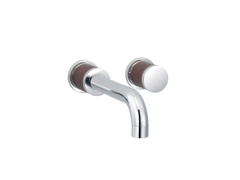 2 hole wall-mounted washbasin tap FLAMANT DOCKS | Wall-mounted washbasin tap - rvb