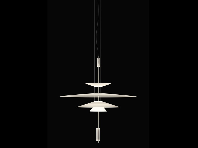 LED pendant lamp with dimmer FLAMINGO | LED pendant lamp by Vibia