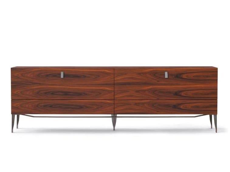 Wooden sideboard FLAMINIA | Sideboard - Potocco