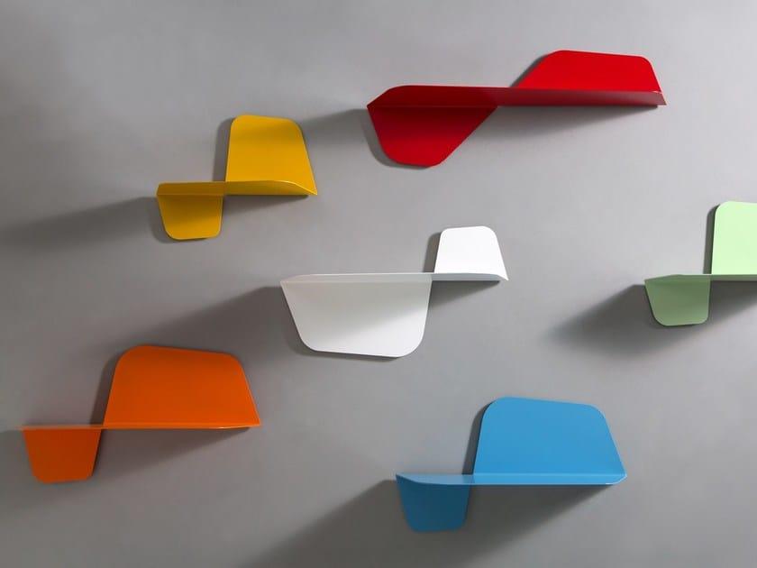 Metal wall shelf FLAP - MEME DESIGN
