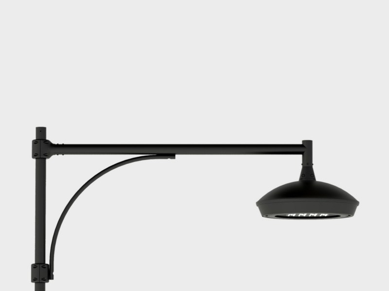 Lampione da giardino a led in alluminio FLAT LINK SOSPENSIONE BRACCIO - Cariboni group