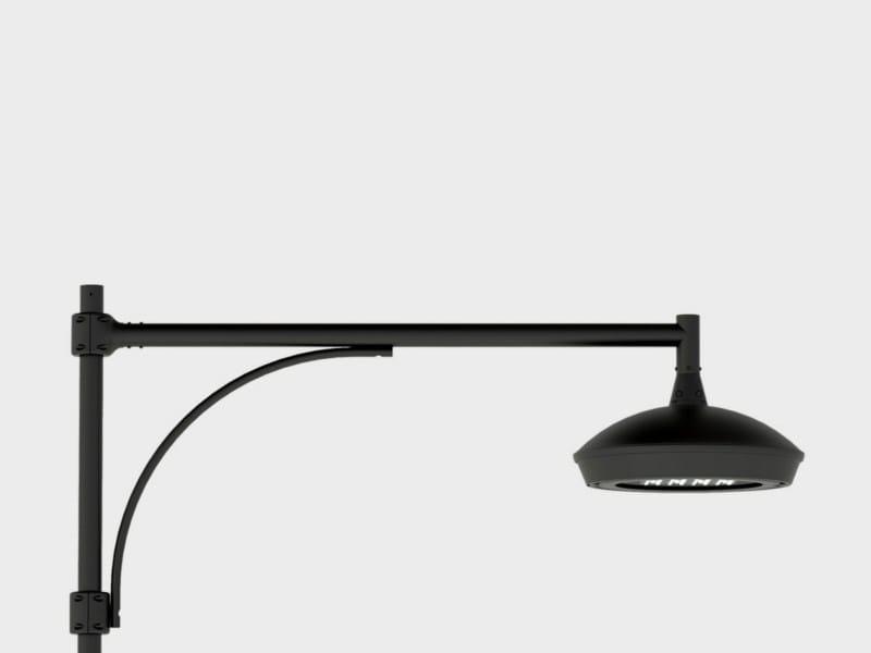 LED aluminium garden lamp post FLAT LINK SUSPENSION ARM - Cariboni group