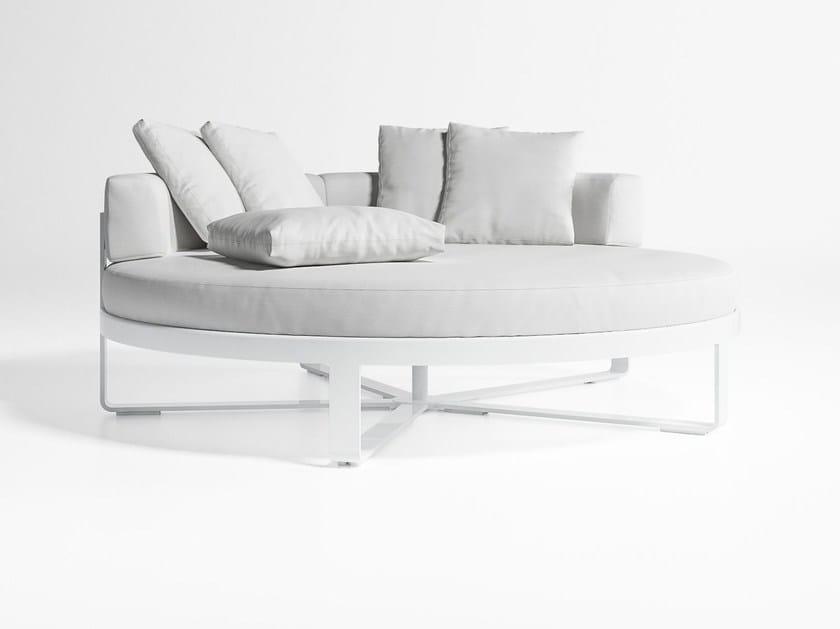 Round thermo lacquered aluminium garden bed FLAT | Round garden bed by GANDIA BLASCO