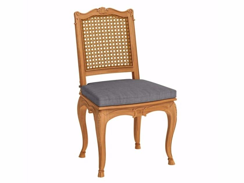 Teak garden chair FLEUR DE LYS | Garden chair - ASTELLO