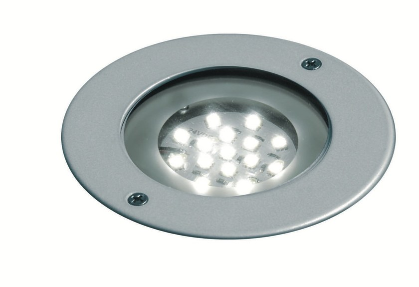 LED walkover light die cast aluminium steplight FLEX F.1019 by Francesconi & C.