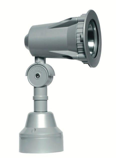 Adjustable aluminium Outdoor floodlight FLEX F.4028 - Francesconi & C.
