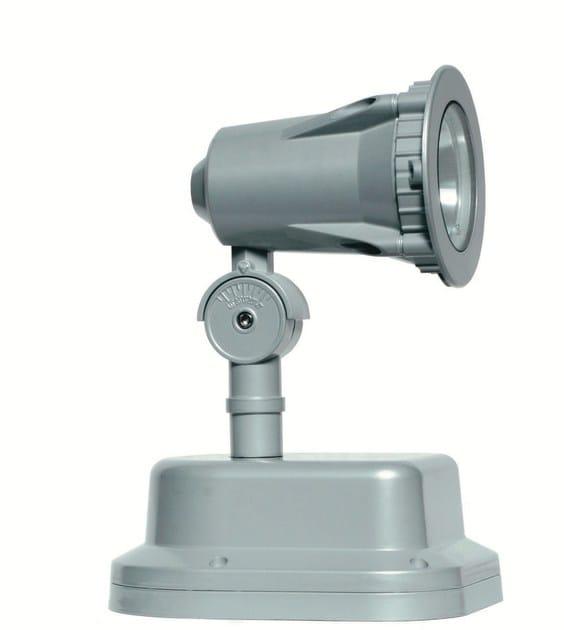 Adjustable aluminium Outdoor floodlight FLEX F.4033 - Francesconi & C.