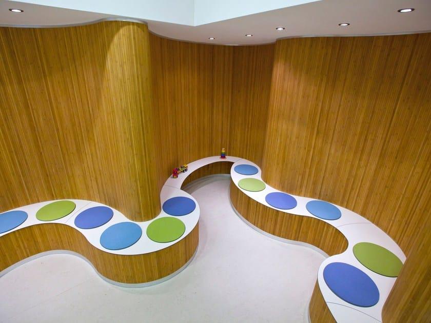 Bamboo wall tiles FLEXBAMBOO | Wall tiles by Moso International