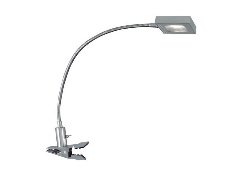 LED with swing arm metal clamp light FLEXY SQUARE - Aromas del Campo