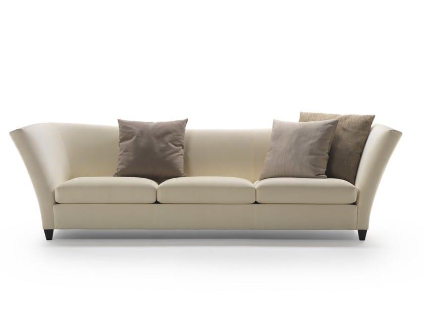 3 seater fabric sofa FLIGHT | Fabric sofa - FLEXFORM