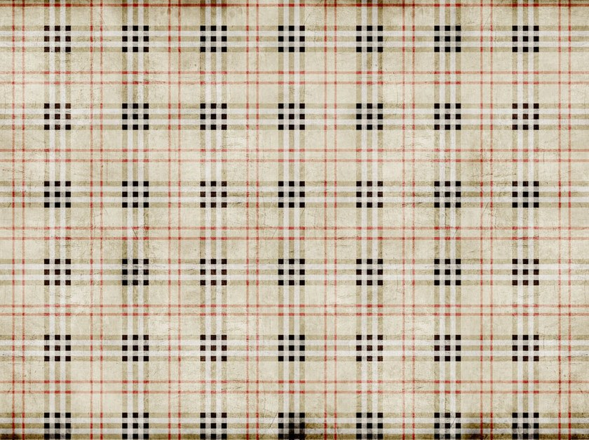 Tartan floor textile FLO-05 - MOMENTI di Bagnai Matteo