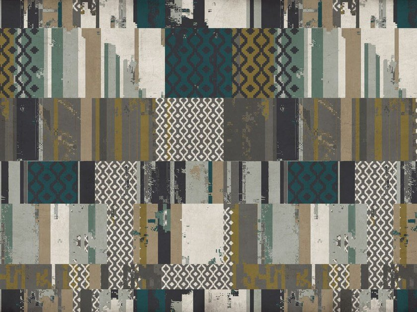Glass-fibre floor textile FLO-06 by MOMENTI