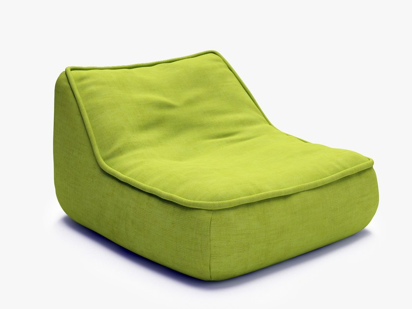 Bean bag FLOAT | Garden armchair by Paola Lenti