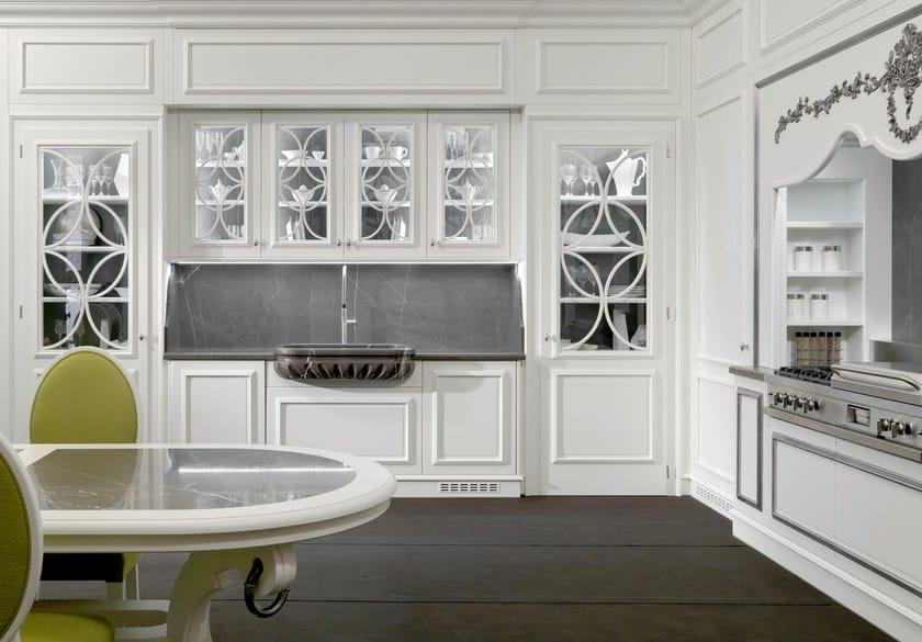 Cucina laccata in ciliegio FLORAL | Cucina - L\'Ottocento