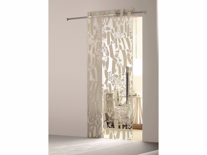 Glass sliding door FLOS OMBRA MEZZA LUCE - Casali