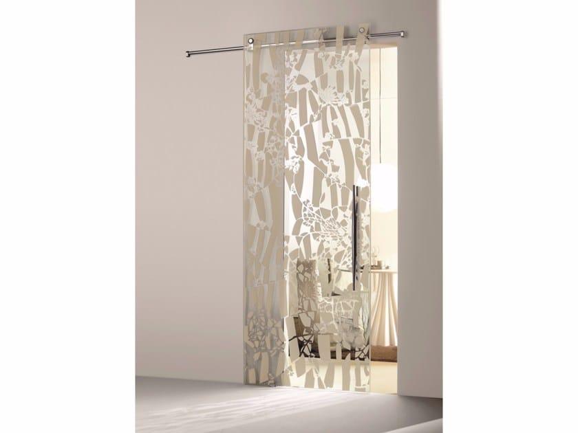 Glass sliding door FLOS OMBRA MEZZA LUCE by Casali