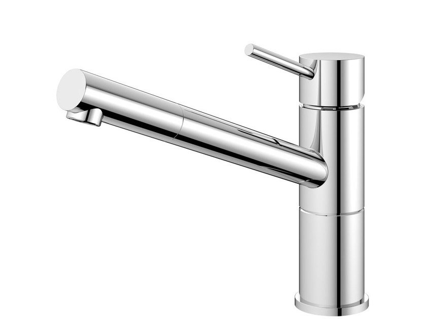 Stainless steel kitchen mixer tap FLOW FL-110 by Nivito