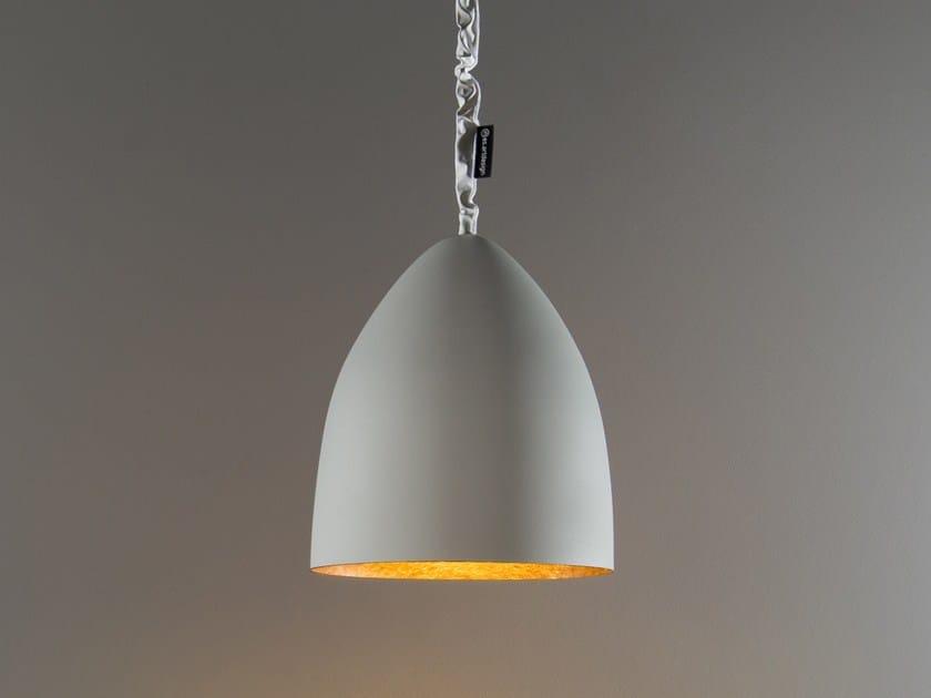 Lampada a sospensione in stile moderno FLOWER S CEMENTO | Lampada a sospensione - In-es.artdesign