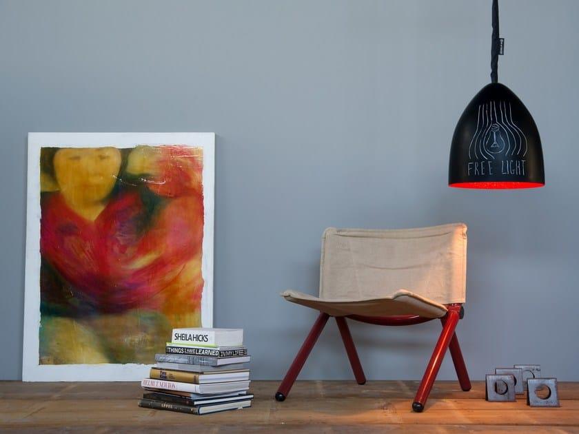 Contemporary style pendant lamp FLOWER S LAVAGNA | Pendant lamp - In-es.artdesign