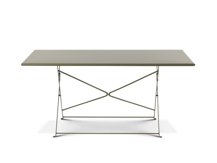 Folding garden table FLOWER | Dining table by Ethimo
