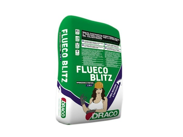 Mortar and grout for renovation FLUECO BLITZ - DRACO ITALIANA