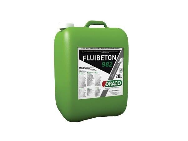 Additive for cement and concrete FLUIBETON 982 - DRACO ITALIANA