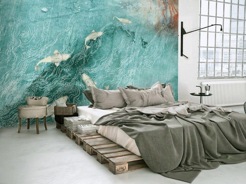 papier peint en tissu non tiss fluvius by. Black Bedroom Furniture Sets. Home Design Ideas