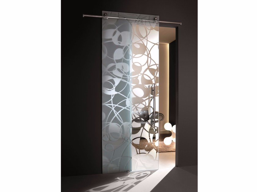 Glass sliding door FLY - Casali
