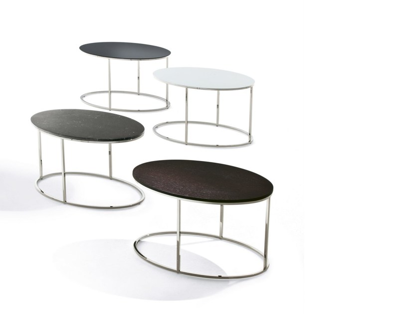 Tavolino di servizio ovale FLY - Pacini & Cappellini