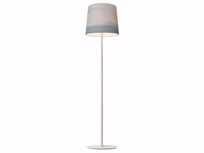 Handmade fabric floor lamp FOG | Floor lamp - Mammalampa