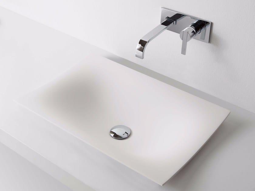 Countertop Ceramilux® washbasin FOGLIO - Antonio Lupi Design®