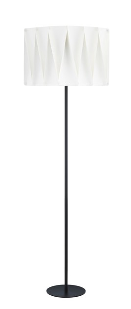 Contemporary style metal floor lamp FOLD FL by ENVY