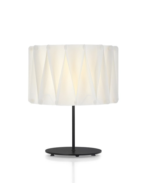 Contemporary style metal table lamp FOLD TL by ENVY
