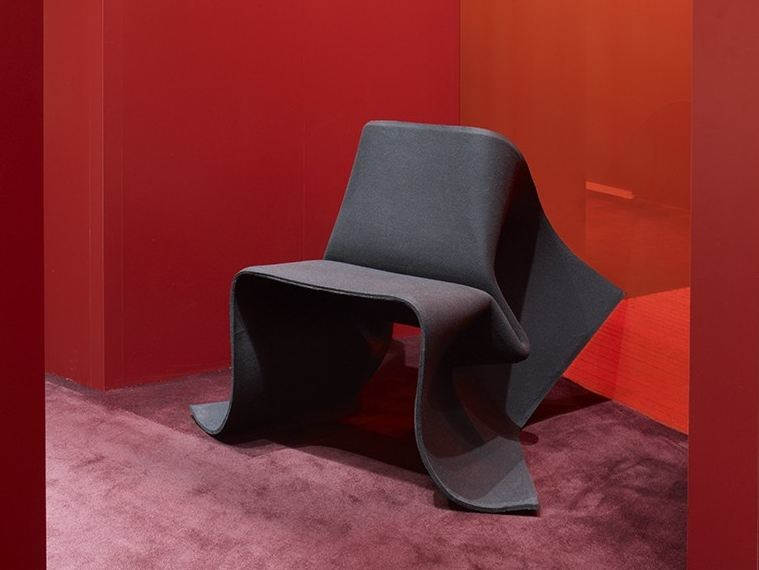 Felt chair FOLDCHAIR LIMITED - Specimen Editions