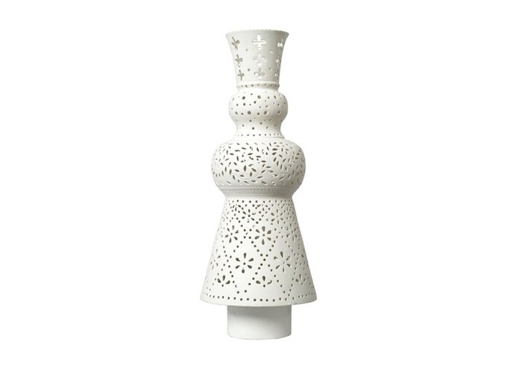 Porcelain table lamp FOLKLORE - Pols Potten