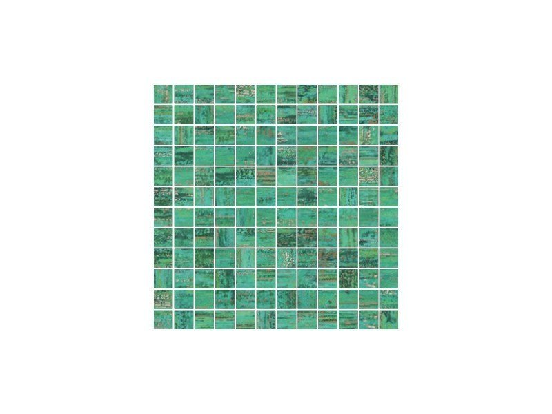 Porcelain stoneware mosaic VERDE AUDACE | Mosaic by CERAMICHE BRENNERO