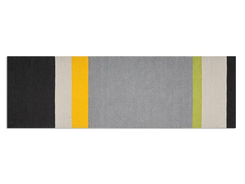 Handmade striped rug FOLLOWER - Calligaris