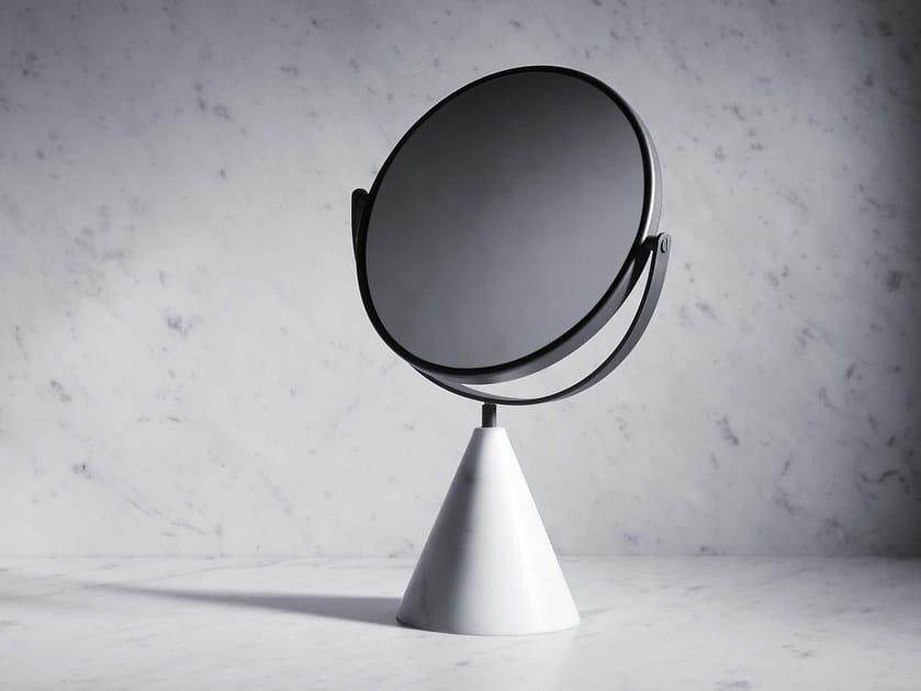 Countertop round mirror FONTANE BIANCHE | Mirror by SALVATORI