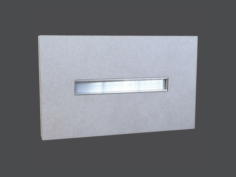 Plasterboard steplight MARKER LIGHT FITTINGS ALUMINIUM PROFILE - Gyps